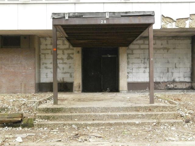 Ein ehemaliger Eingang