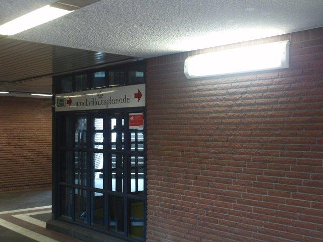 Zugang Quantiusstraße