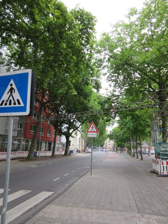 Allee Duisburg Straße Rheinhausen