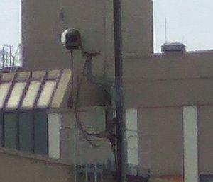 Videoüberwachung auf Demonstration gerichtet