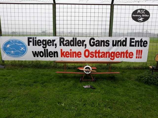 Duisport und SPD wollen völlig unsinnig eine Straße durch die Rheinaue Hochemmerich, die Bevölkerung will das nicht